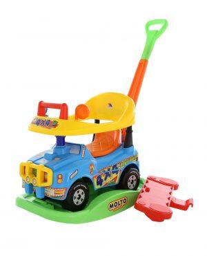Автомобиль Джип каталка Викинг многофункциональный №2 Голубой 62994