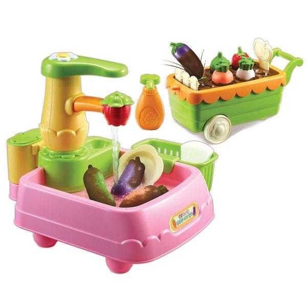 Игровой набор Консуни Время готовить Чистые овощи 11 предметов 231038