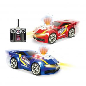 Машина р/у Н2О звуковые и световые эффекты 2 цвета 24521