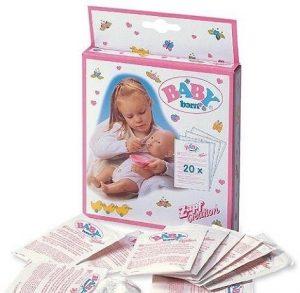 Игрушка BABY born Детское питание 12 пакетиков 779-170