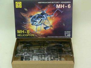 Вертолет МН-6 вертолет-неведимка Моделист 204820