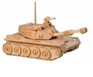 Конструктор деревянный Танк Р050