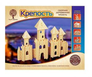 Конструктор деревянный Крепость