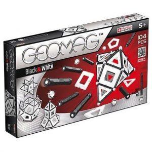 Магнитный конструктор GEOMAG Black&White 104 детали 013