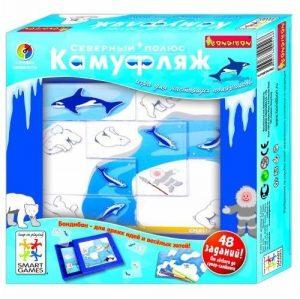 Логическая игра BONDIBON Камуфляж Северный полюс BB0516