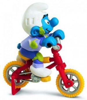 SCHLEICH Гномик на велосипеде 40252