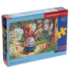 Пазл Castorland Красная шапочка 120 деталей B-12381 6+