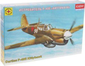 Игрушка самолет истребитель Р-40Е Киттихаук (1:72) 207263