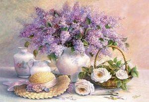 Пазл Castorland Цветы живопись 1000 деталей С-102006 3+