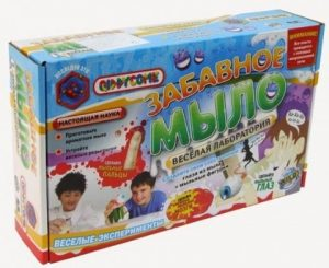 Игрушки наборы для исследований Забавное мыло WS15