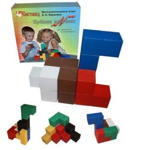 Кубики Кубики для всех коробка картон (гофра) СВ02003