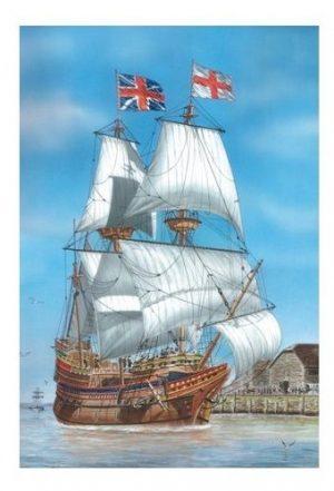 Игрушка корабль Майфлауэр 110061