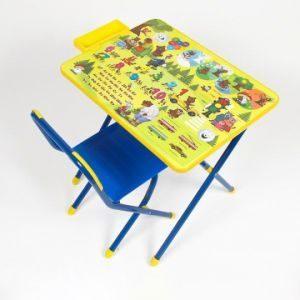 Набор мебели Дэми №2 синий Медведи