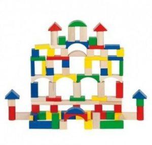 Игрушка деревянная строительные кубики 58669