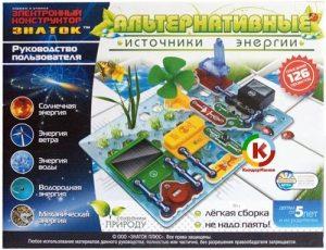 Электронный Конструктор ЗНАТОК Альтернативные источники энергии 70096
