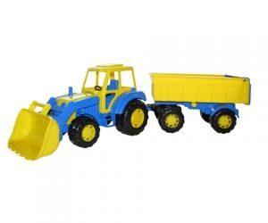Трактор с прицепом №1 и ковшом Мастер 35264