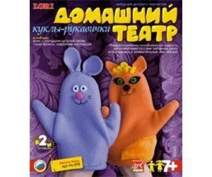 Кукла рукавичка Лиса и заяц Рк-079