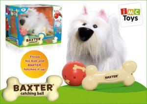 Интерактивная собака Бакстер на батарейках в коробке 5709/1102598