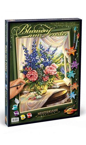 Раскраска Schipper Цветы на столе 50/40 9130601