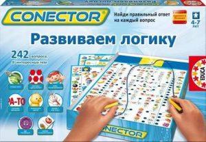 Настольная игра Educa Электровикторина Развиваем логику 15461