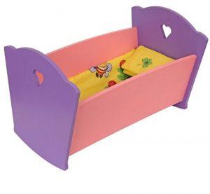 Мебель кукольная Кроватка КМ-02