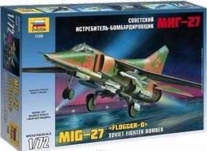 7228 Советский истребитель бомбардировщик МиГ-27