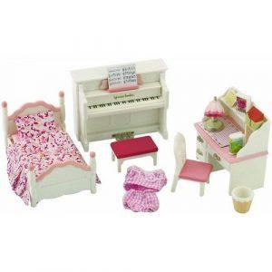 Игровой набор Sylvanian Families Детская комната бело розовая 2953
