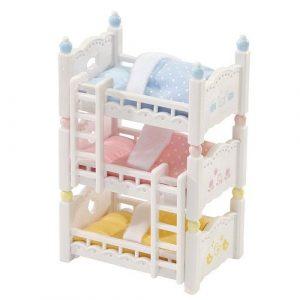 Игровой набор Sylvanian Families Трехъярусная кровать 2919