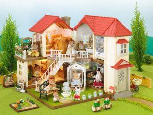 Игровой набор Sylvanian Families Большой дом со светом 2752