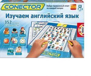 Настольная игра Educa Электровикторина Изучаем английский язык 15460