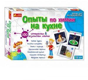 Научные игры Опыты по химии на кухне развлекательно познавательные игры 0330