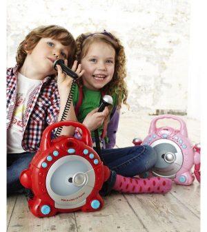Игрушка CD плеер с двумя микрофонами для мальчиков 134440