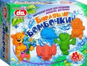 Набор Бурлящие бомбочки для ванны Животные да17002