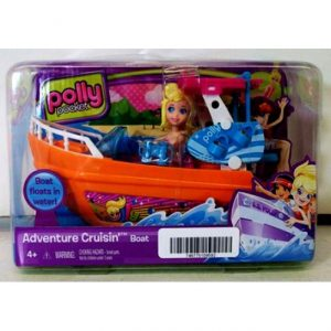 Лодка в коробке Меттел Polly Pocket X1483