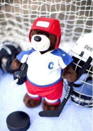 Медведь Хоккеист OS044/20