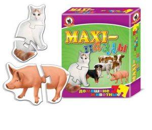 Пазл Макси пазлы Домашние животные 03522 3+