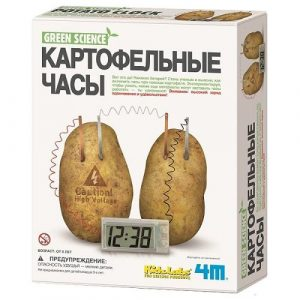 Картофельные часы Green Science 00-03275