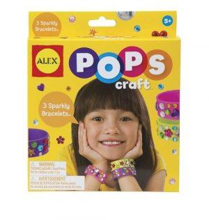 Набор для творчества POPS CRAFT Создай 3 блестящих браслета 1292