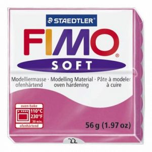 FIMO Soft Глина полимерная запекаемая в печке МАЛИНОВЫЙ 8020-22