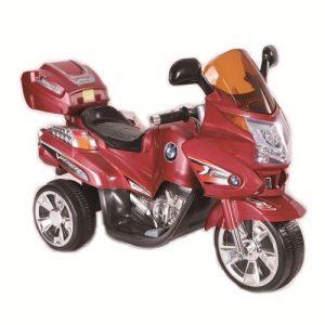 TjaGo Электромотоцикл 3-6 лет VIPER красный регул громкости свет эфф