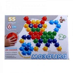 Мозаика напольная с крупными фишками 55 элементов 01536