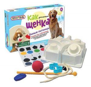 Игрушки наборы для исследований Как дрессировать щенка WS80