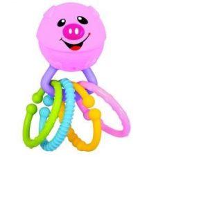 Развивающая игрушка Веселая хрюшка 049544