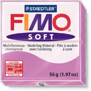 FIMO Soft Глина полимерная запекаемая в печке СЛИВОВЫЙ 8020-63