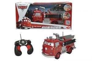 Пожарная машина на р/у 1:16 29 см свет звуквода движущиеся глаза 1/4 3089549