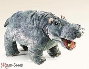 Мягкая игрушка Гиппопотам 45 см 2855