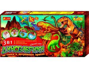 Игра творчество Динозаврики развлекательно познавательные игры 583