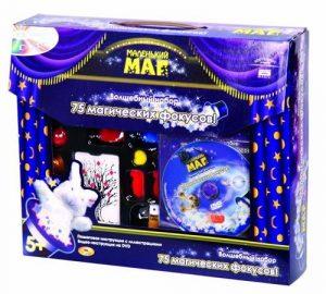 Набор Маленький маг для демонстрации 75 фокусов DVD диск в комплекте MLM1702-006