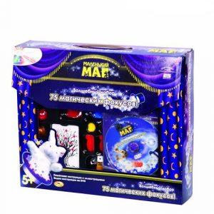 Набор Маленький маг для демонстрации 100 фокусов DVD диск в комплекте MLM1702-005