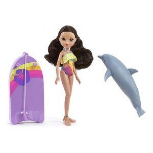 Игрушка кукла Moxie с плавающим дельфином Софина 503132